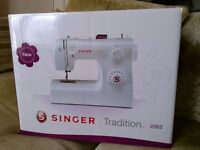 Brand new never been out the box Singer Tradition sewing machine