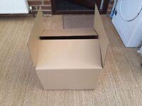 Free 3 medium carboard boxes
