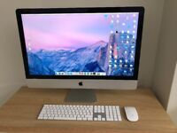"""Apple iMac 27"""" / 3.2 Ghz i5 / 8GB RAM / 1TB Hard Drive - Excellent condition"""