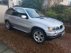 BMW X5 3.0D SPORT AUTO 03 PLATE 10 MTH MOT SILVER
