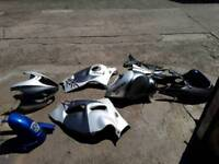 Hayabusa , sv 650, bmw r1200parts , full paintwork for busa and sv