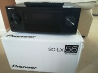 Pioneer AV Amplifier - Very good condition SX-LX56