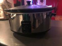 Slow cooker 6.5 litres