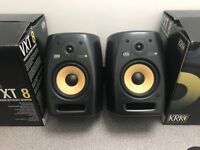 KRK VXT8 MONITOR SPEAKERS (PAIR) *GREAT CONDITION*