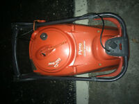 flymo glide master 340 electric lawnmower , in good working order