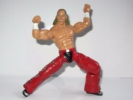 WWE WWF Shaun Michaels HBK Elite superkick sweet chin music wrestling figure