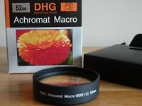 DHG Achromat 200 (+5) Macro lens 52mm