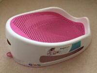 Angel Care Baby Girl Bath Support Stand Nearly New Condition
