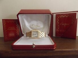 Gents Cartier Panthere Watch