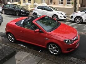 Vauxhall Tigra Convertible Red low mileage great condition only 2 owners