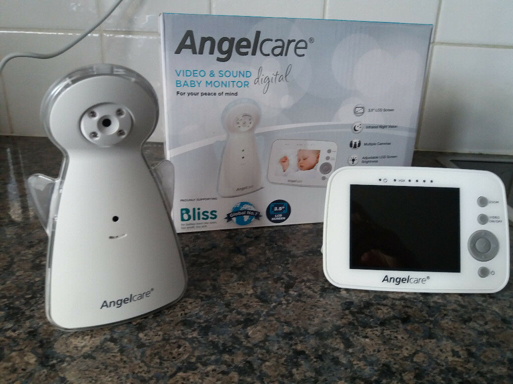 Angelcare Video Monitor in MINT CONDITION (virtually brand