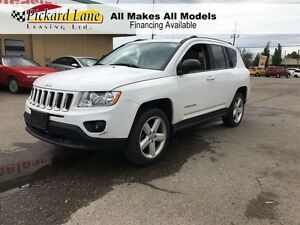 2011 Jeep Compass $112.86 BI WEEKLY! $0 DOWN! LEATHER & SUNROOF!