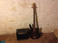 Legacy Bass guitar and practice amp - ideal for beginners
