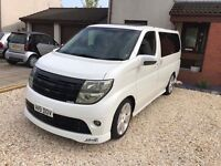 Nissan elgrand import immaculate 7 seater real head turner