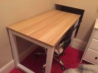 Light Walnut Desk - Excellent Condition