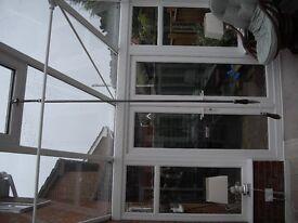 Conservatory roof windoe winder pole