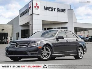 2013 Mercedes-Benz C-Class C300–Accident Free–Low KMs–AWD–3.5L V