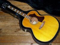 Takamine TE250S VN jumbo electro acoustic made in Japan 2007