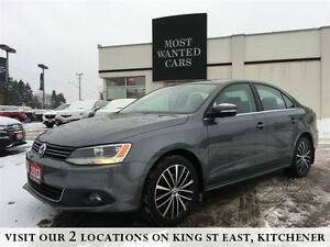 2013 Volkswagen Jetta 2.5L HIGHLINE | LEATHER | NO ACCIDENTS