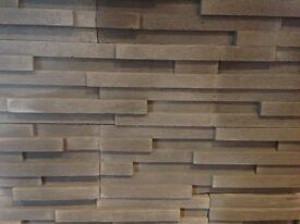 Decorative Stone/ Tiles 3D effect, grey, interior and exterior use