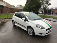 2009 fiat grande punto sporting 1.6 diesel 12 months mot/3 months parts and labour warranty