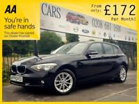 BMW 1 SERIES 2.0 120D SE 5d AUTO 181 BHP (black) 2014
