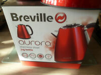 BREVILLE AURORA ELECTRIC KETTLE AND MATCHING MUG TREE