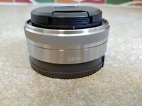 Sony SEL16F28 pancake lens wide angle 16mm f2.8 for sony e mount mirrorless a6000 nex5 etc