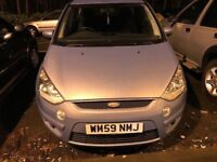FORD S MAX EDGE TDCI DIESEL 143BHP ,7 SEATER WITH 1 YEAR MOT ,ONLY 1 FORMER KEEPER FROM NEW
