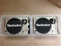 Technics SL1200 x2
