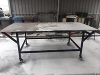 Welding/ Fabricating bench Mild Steel Top