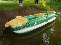 BNIB unused Inflatable Kayak Crivit Inshore 335 II