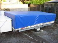 Rapido Exportmatic Folding Caravan