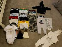 Baby boy clothing bundle (3-6 months)