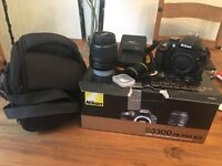 Nikon D3300 'Like New'. Used once.