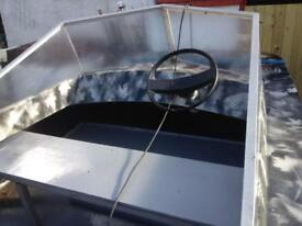 13 ft fibreglass boat and trailer