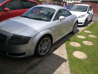 AUDI TT 225 SILVER F.S.H BOSE 6 C.D HEATED SEATS 2 KEYS CAMBELT AND WATER PUMP DONE NO PX