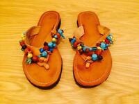 Mallorca hand-made slippers, size 38