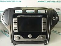 FORD MONDEO MK4 2007-2010 SAT NAV TOUCH SCREEN EO08