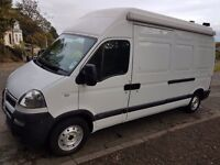 2004 VAUXHALL MOVANO. IDEAL FOR MOTORHOME/RACE VAN CONVERSION.