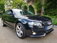 AUDI A4 TDI S LINE FULL AUDI SERVICE HISTORY 1 OWNER FROM NEW MINT CONDITION XENON LIGHTS AUTO