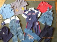 Selection of boys clothes age 2 years