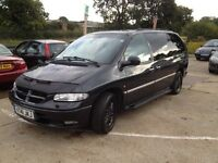 SWAINSTHORPE MOTOR CO CHRYSLER GRAND VOYAGER LX AUTO 7 SEATER BLACK MOT 18TH APRIL 2017