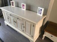 Solid wooden sideboard from next in Ivory cream £220