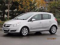 2007 VAUXHALL CORSA 1.2 PETROL DESIGN, HALF LEATHER, 5 DOOR, FACELIFT MODEL