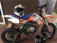 CRF 150 Frame with Stomp Engine motorbike