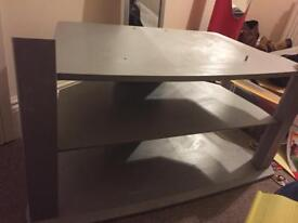 Grey TV unit