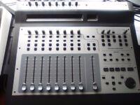 M-Audio Project Mix I/O Firewire Audio Interface & Midi Mackie Control Surface ADAT
