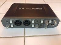 M-Audio Fast Track Pro USB Audio Interface