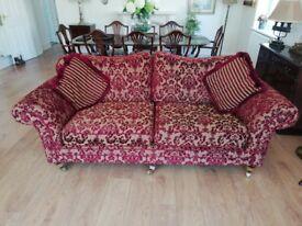 Three seater sofa and two seater sofa